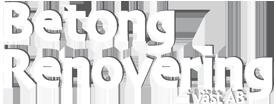 Vit Logotyp Betongrenovering i Väst AB