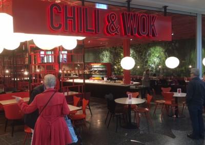 Publika golvet på Chili Wok