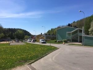 Bild 2 - Agnesbergshus Överblicksbild Hus