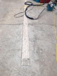 Anvisningsskärning för infästning av golvräls - btgvast.se