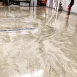 Färdigt golv med golvräls - btgvast.se