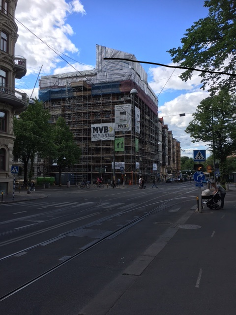 Avjämningar av golv Vasagatan 36 Göteborg
