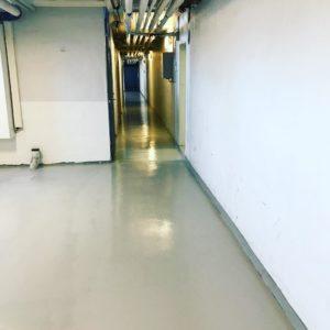 golvrenovering partille källargång 2