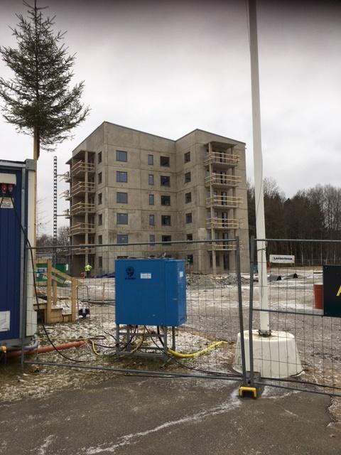 Avjämning och spackling i Nossebro