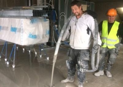 Avjämning och spackling av 1800 m² golv i Nossebro - btgvast.se