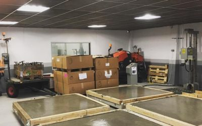 Flytspackling för Husqvarna